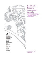 Residential Property Assessment Appeals (Pub 30)