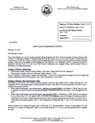 Low Value Exemption Notice