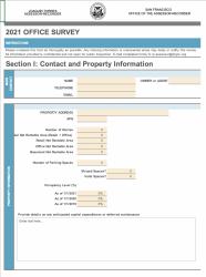 2021 Office Survey