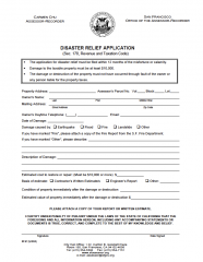 Disaster Relief Application